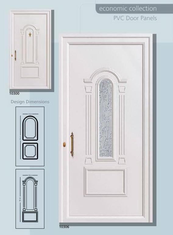 PVC Panelna vrata-p01