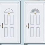 PVC Panelna vrata-p05