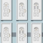PVC Panelna vrata-p11